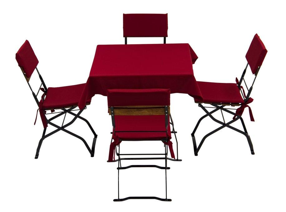 sitzpolster f r biergartenm bel und r ckenlehne. Black Bedroom Furniture Sets. Home Design Ideas